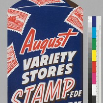 August: Variety Stores STAMP-ED For Victory