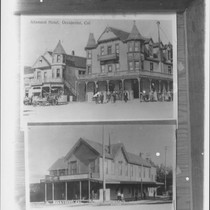 Altamont Hotel, Occidental, Cal. [and] Analy Hotel