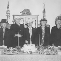 Founding members of the Minerva Club celebrate its 50th anniversary