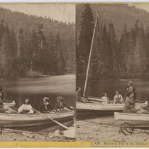 Boating party on Donner Lake, # 128