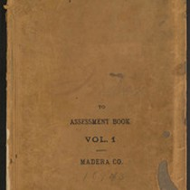 Index to 1893 Madera County Assessment Roll, Volume 1
