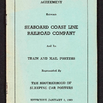 Agreement between Seaboard Coast Line Railroad Company and its train and mail ...