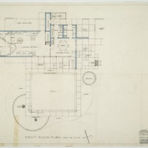 Albert Frey: Frey House 1 floor plan