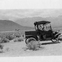 "1914 Model T ""Pickup,"" Mojave Desert, Calif"