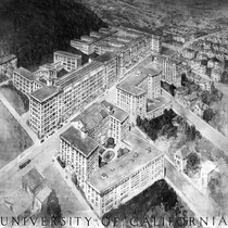 Aerial drawing of UCSF
