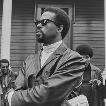 Eldridge Cleaver, Minister of Information for the Black Panther Party, Editor of ...