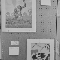 Art show panels, Nycon 3