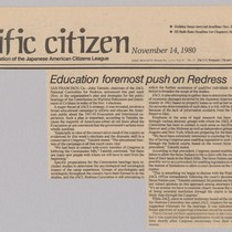 Pacific Citizen article 11/14/80