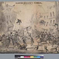 Earth Quakey Times, San Francisco [California], Oct[ober] 8, 1865