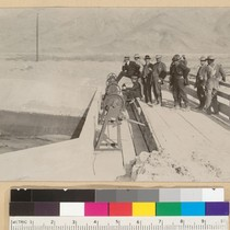 Opening of the head gates of the L.A. Aqueduct