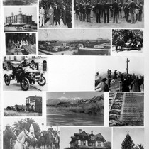 Photograph montage of Riverside, California