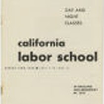 California Labor School (Oakland) 1945 spring term catalog