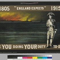 "18-5 ""England expects"" 1915: Are you doing your duty To-day"