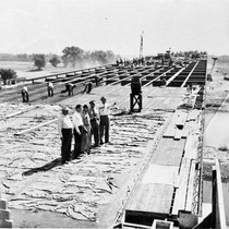 10th Street Bridge under construction