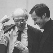 Aaron Copland and David Whitwell, May 5, 1975