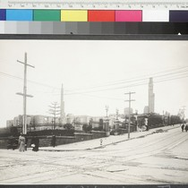 California & Powell Streets. [Ruined grounds of Mark Hopkins Institute of Art, ...