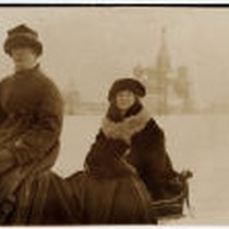 Bessie Beatty in Moscow