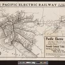 Lines of the Pacific Electric Railway in Southern California