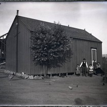 Barn and family