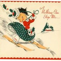 A Christmas Card from Miriko Nagahama to Betty Salzman, December 12, 1942