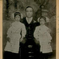 Wong Fook one of the Big Eight of China Town in 1898--Left ...