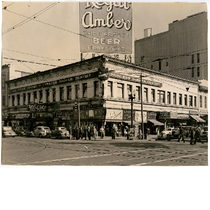 Borland building, southeast corner of 12th Street and Broadway in downtown Oakland, ...