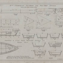 12 Ft. Combination Out-Board & Row-Boat Details
