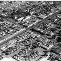 Aerial Photograph of Downtown Chula Vista