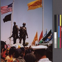 Vietnam War Memorial dedication