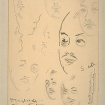 Diaghileff, Serge (portrait studies, 1927)