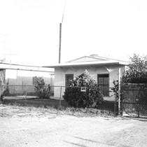Slab City: photograph of housing