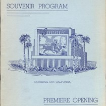 Sun-air Drive in Theatre Souvenir Program