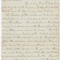 Letters from Alfred North to his son William North