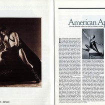 "Article: ""American Apollo: Lincoln Kirstein reflects on the late danseur noble, Lew ..."