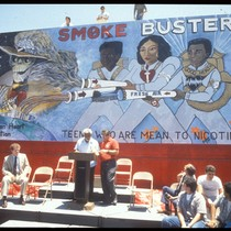 "American Heart Association ""Smoke Busters"" Mural Dedication Ceremony"
