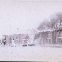 Barracks fire