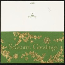 Christmas card from Eileen Chang to C.T. Hsia, ca. 1972