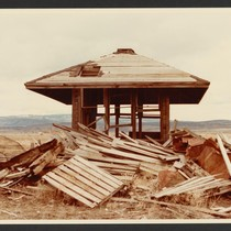 Remains of the Tule Lake concentration camp for Japanese-Americans, Newell, California