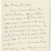 """Dear Frances Marshall, I am in touch with…"""