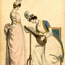 Afternoon dress, Winter 1800