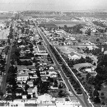 Aerial View of Chula Vista Looking West