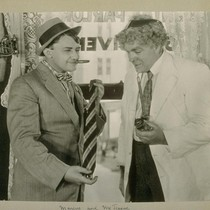 Marcus and McTeague. [Jean Hersholt and Gibson Gowland.]