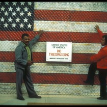 United States of America- No Trespassing