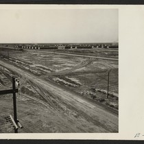 South and East section of the Topaz Relocation Center. Photographer: Parker, Tom ...