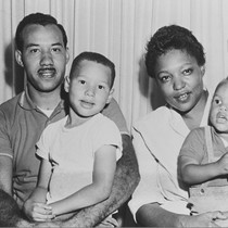 Clifton Tatum Family, Oxnard : February 1957 ; Clifton was superintendent at ...