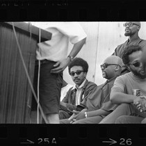 H. Rap Brown and Ron Karenga