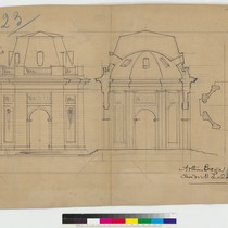 Architectural drawings, signed by Arthur Brown, Jr