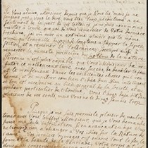 Frederick William II, letter, 1770 Nov. 12, to Voltaire
