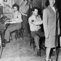 "1943: ""The Fabulous Five"":Dave Brubeck, Frances Glenn, Wes Cope and, Ralph Gephardt. ..."