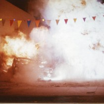 "Car crash stunt sequence from ""Bad Boys"" (8)"